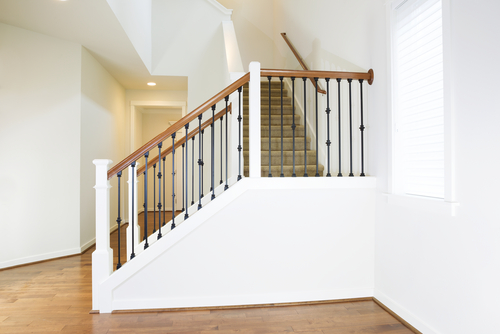 How To Choose Wooden Handrails For Wrought Iron Staircase Railings?